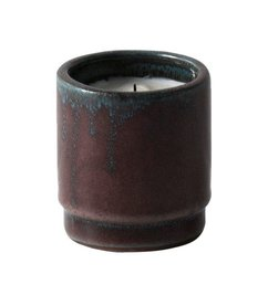 ferm LIVING-collectie Scented candle ceramic - Red