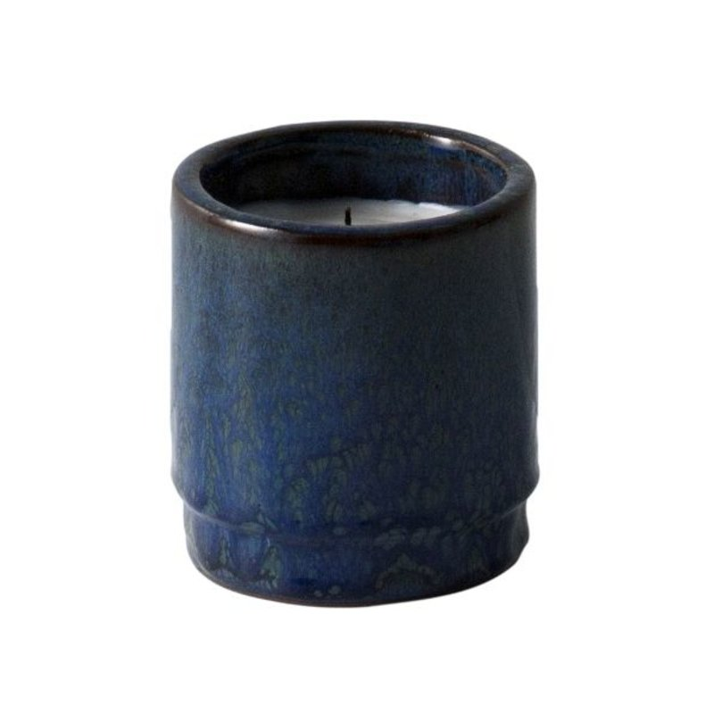 ferm LIVING-collectie Scented candle ceramic - Blue