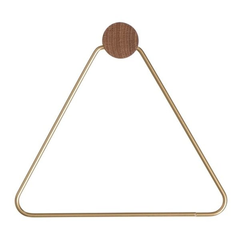 ferm LIVING-collectie Toilet paper holder - Brass