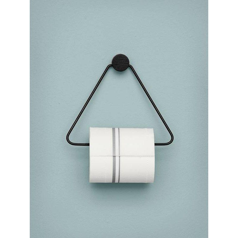 ferm LIVING-collectie Toilet paper holder - Black