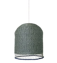 ferm LIVING-collectie Braided lampshade - Green