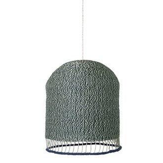 ferm LIVING Braided lampshade - Green
