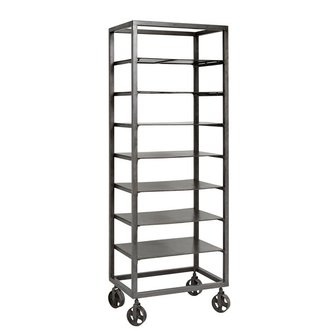 Nordal Rack RAW with removeable shelves - Iron
