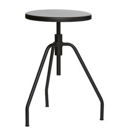 House Doctor-collectie Stool SCARPA - Black