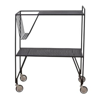 House Doctor Trolley USE - Zwart