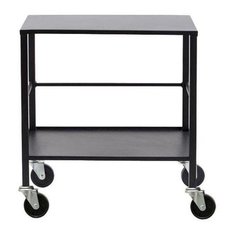 House Doctor Trolley OFFICE - Black