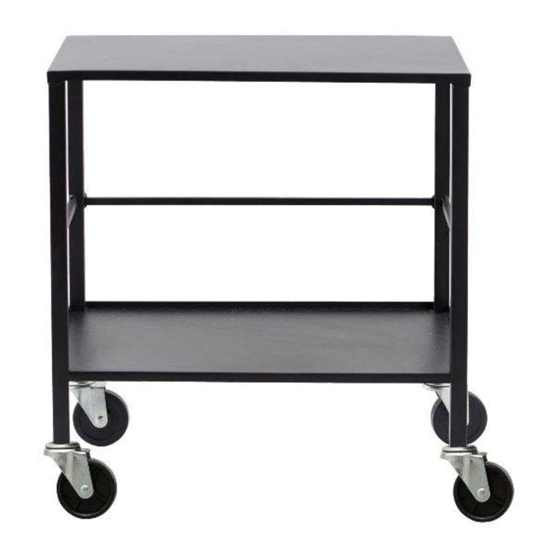 House Doctor-collectie Trolley OFFICE - Black