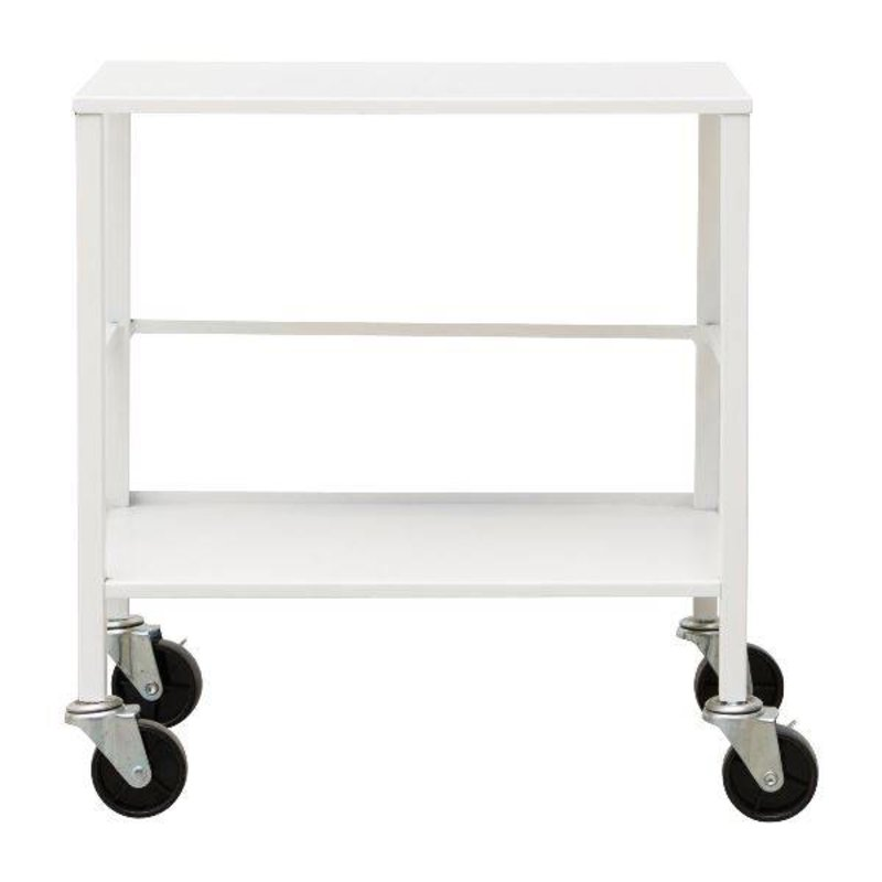 House Doctor-collectie Trolley OFFICE - Wit