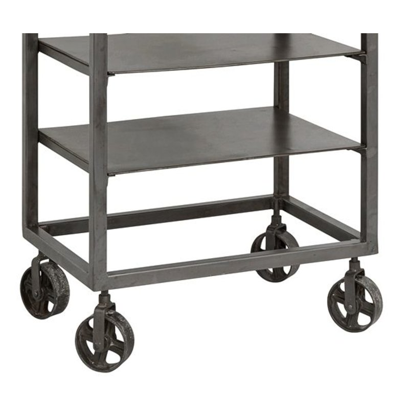 Nordal-collectie Rack RAW with removeable shelves - Iron