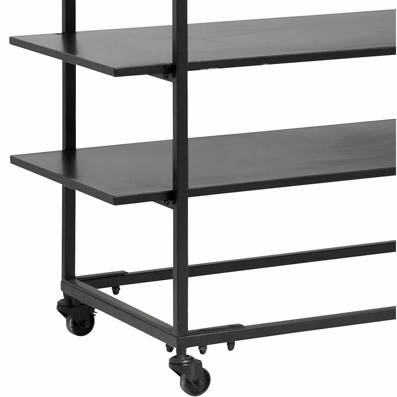 Nordal-collectie Rack with shelves - Black