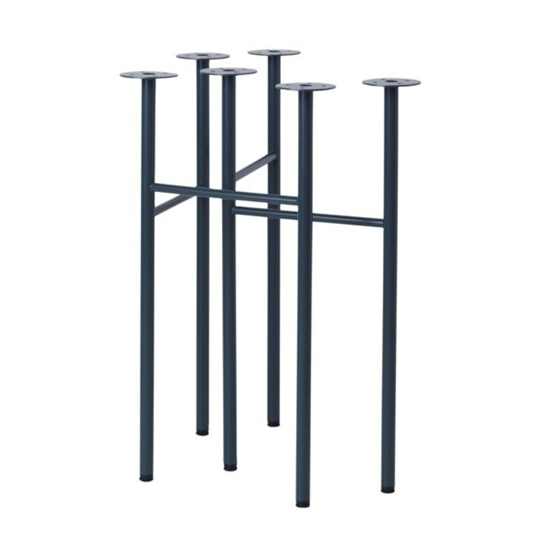 ferm LIVING-collectie Mingle Trestles W48 - Dark Blue (Set of 2)