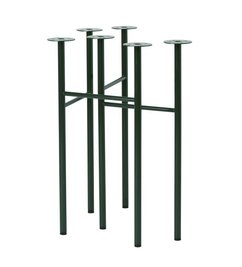 ferm LIVING-collectie Mingle Trestles W48 - Green (Set of 2)
