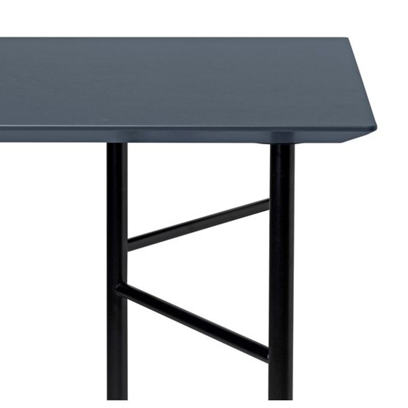 ferm LIVING-collectie Mingle Desk Top 135 cm - Linoleum - Charcoal