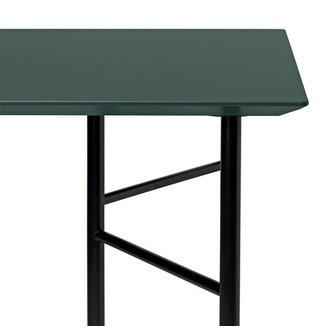 ferm LIVING Mingle Desk Top 135 cm - Linoleum - Green