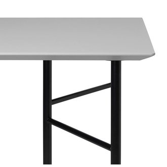 ferm LIVING Mingle Desk Top 135 cm - Linoleum - Light Grey