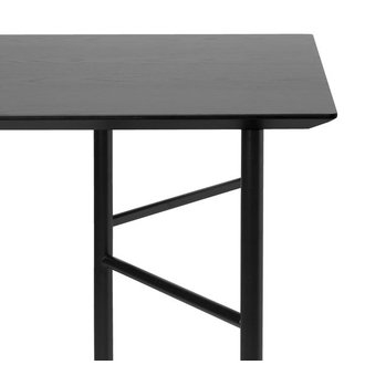 ferm LIVING Mingle Table Top 160 cm - Veneer - Black