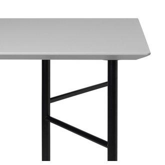 ferm LIVING Mingle Table Top 160 cm - Linoleum - Light Grey