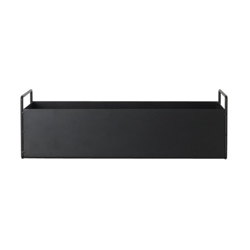 ferm LIVING-collectie Plant Box - Black - Small