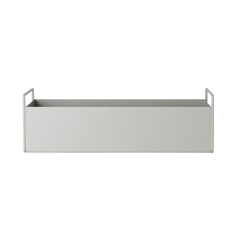 ferm LIVING-collectie Plant Box - Light Grey - Small