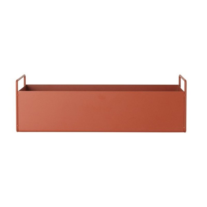 ferm LIVING-collectie Plant Box - Ochre - Small