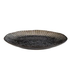 Madam Stoltz-collectie Dinnerplate black