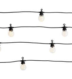 Madam Stoltz-collectie Lichtsnoer zwart in- en outdoor