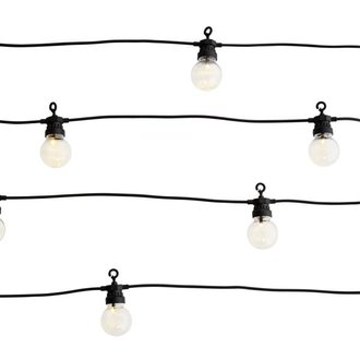 Madam Stoltz Lights chain white in-outdoor