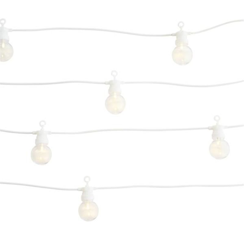 Madam Stoltz-collectie Lights chain white in-outdoor