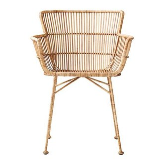 House Doctor Loungestoel COON rattan