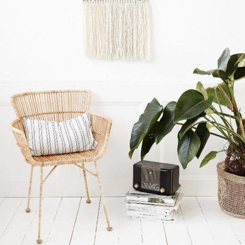 House Doctor-collectie Loungestoel COON rattan