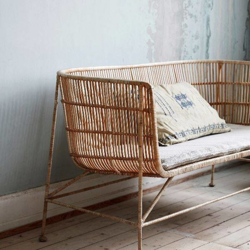 House Doctor-collectie Loungebank COON rattan