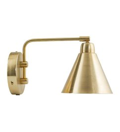 House Doctor-collectie Wandlamp GAME brass