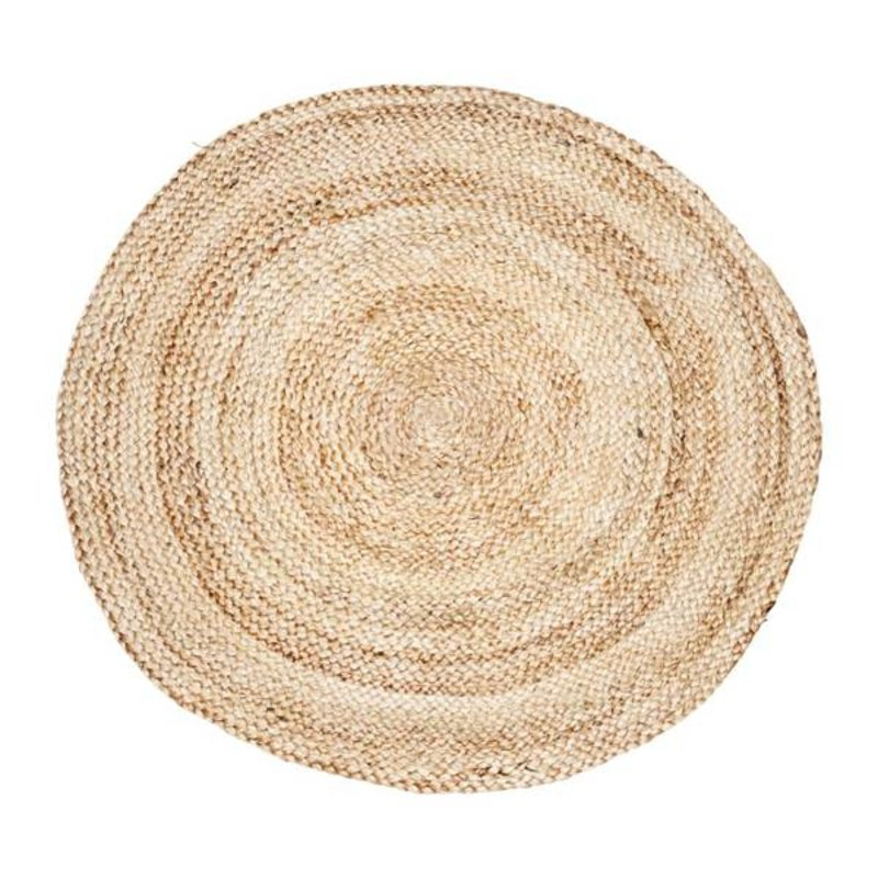 House Doctor-collectie House Doctor vloerkleed STRUCTURE rond naturel