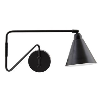 House Doctor Wandlamp GAME Black