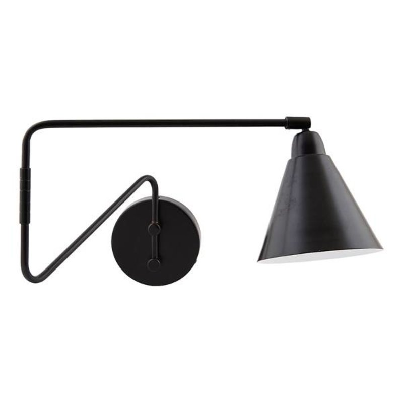House Doctor-collectie Wandlamp GAME Black