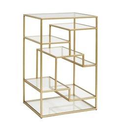Nordal-collectie Glazen display kastje - Goud