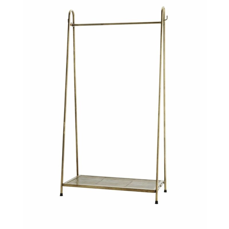 Madam Stoltz-collectie Coatrack brass