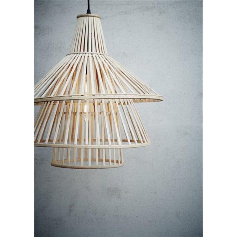 Madam Stoltz-collectie Bamboe hanglamp