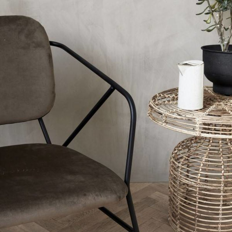House Doctor-collectie Lounge chair KLEVER brown