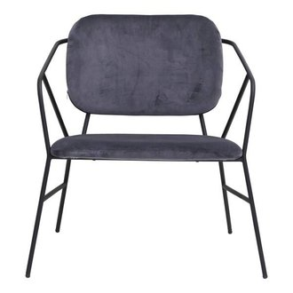 House Doctor Lounge chair KLEVER grey
