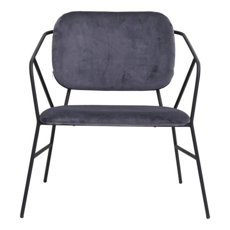 House Doctor-collectie Lounge chair KLEVER grey