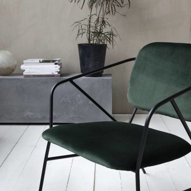 House Doctor-collectie Lounge chair KLEVER green
