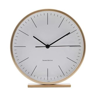House Doctor Table clock HANNAH gold