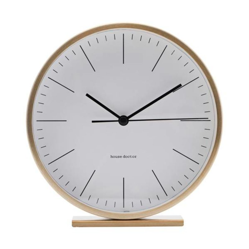House Doctor-collectie Table clock HANNAH gold