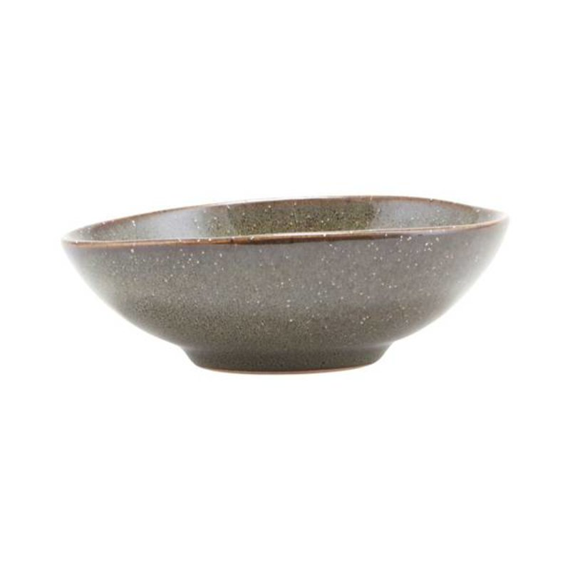 House Doctor-collectie Stoneware bowl LAKE green