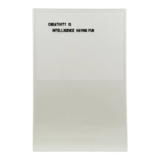 Monograph Noticeboard GRID grey
