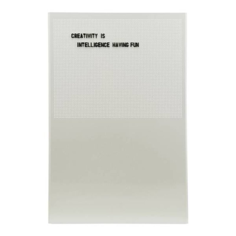 Monograph-collectie Noticeboard GRID grey