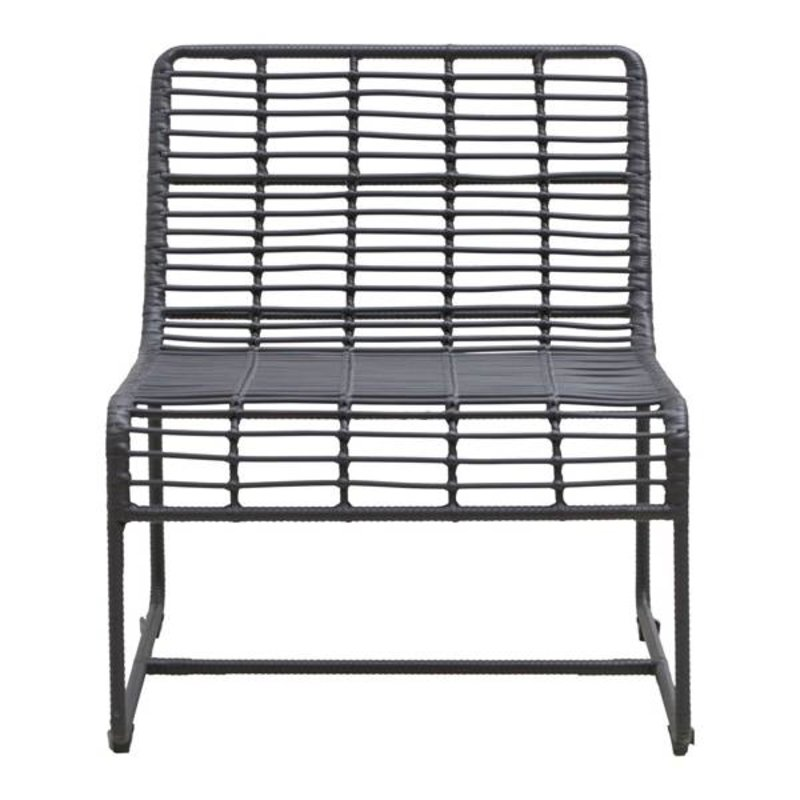 House Doctor-collectie Lounge chair OLUF black
