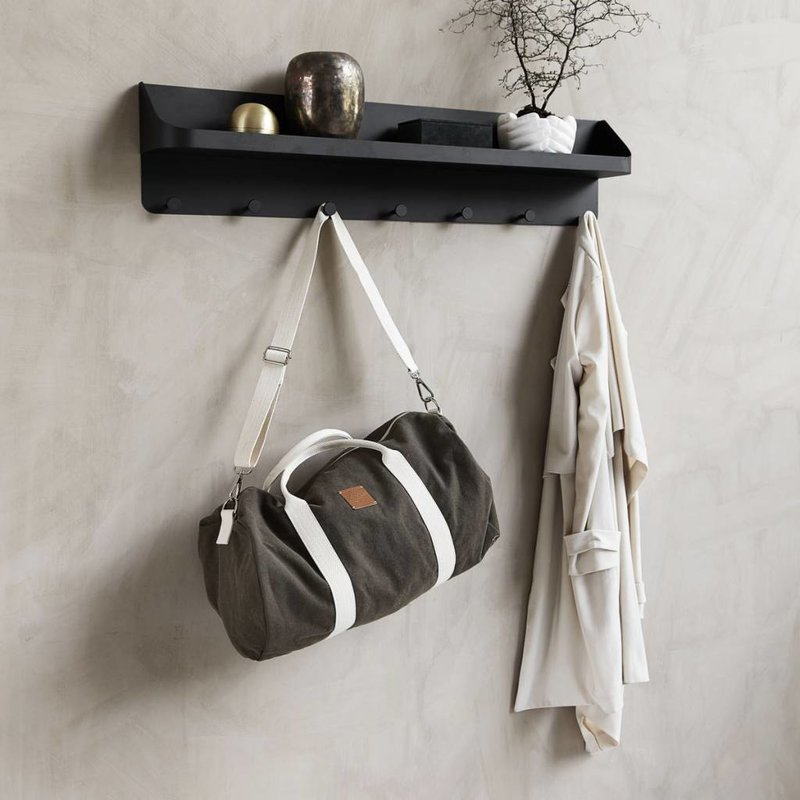 House Doctor-collectie Coat rack POCKET black