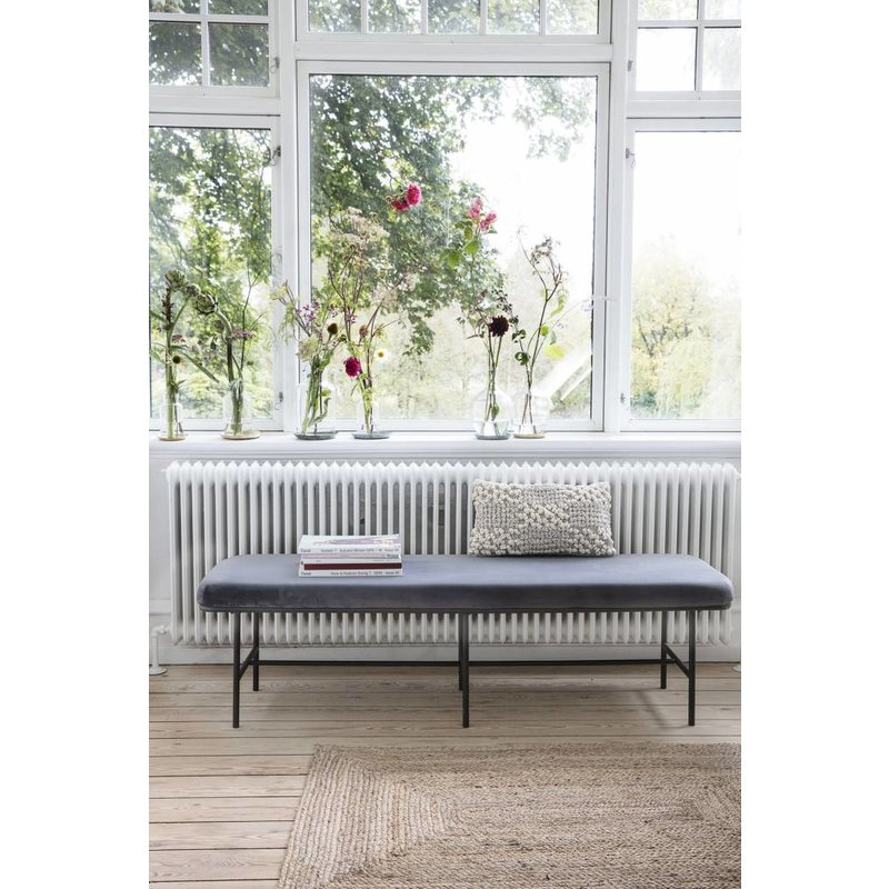 House Doctor-collectie Bench COMMA grey